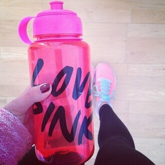 nike shoes nike pink la couleur est corail corail running pink by victorias secret women trendy legs water bottle