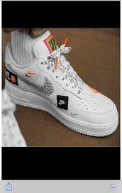 shoes,nike air force 1,nike,all white nikes,low top sneakers,all white sneakers