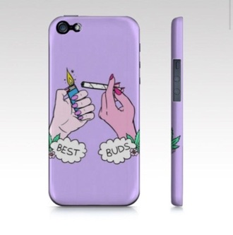 phone cover purple weed best buds iphone