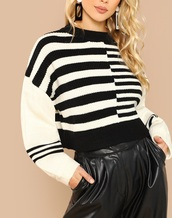 sweater,girly,girl,girly wishlist,sweatshirt,jumper,black,black and white