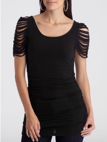 GUESS Top - GUESS by Marciano Looped Black - $78.00 - trendMe.net