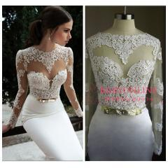 2014 white lace bridemaid dress_New arrivals(446)_Celebrity dress Online shopping prom dress - Powered by ECShop | We Heart It