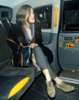 shoes brown shoes keire knightley