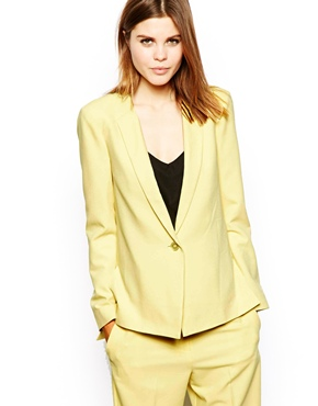 ASOS | ASOS Blazer In Crepe With Vent Side at ASOS