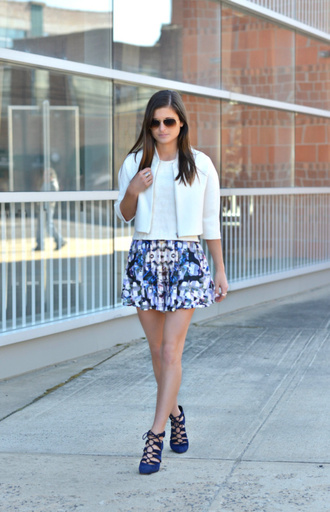 to be bright blogger shorts jacket shoes