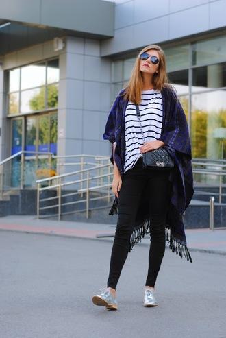 yuliasi blogger top jeans shoes bag sunglasses