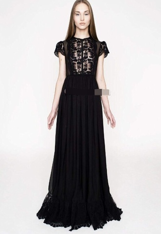 dress uk lace dress maxi dress black united kingdom vintage style dress