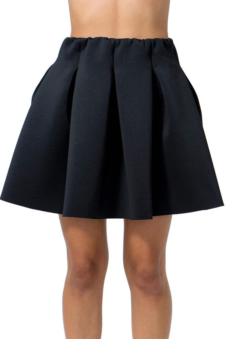 Neoprene pleat mini