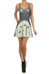 dress,totoro,grey totoro