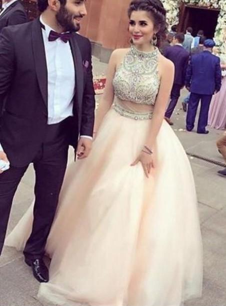 615b5209e6 dress quinceanera dress prom dress prom gown evening dress evening dress  two pieces prom dress two