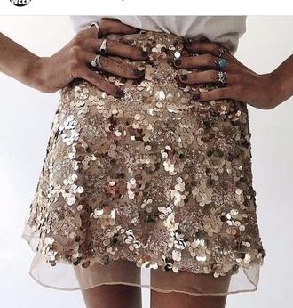 skirt sequin skirt