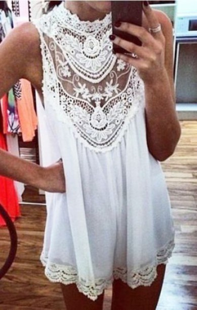 Top Tunic Sheer Perfect Find This Flowers Flowy