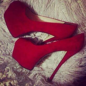 shoes high heels red shoes