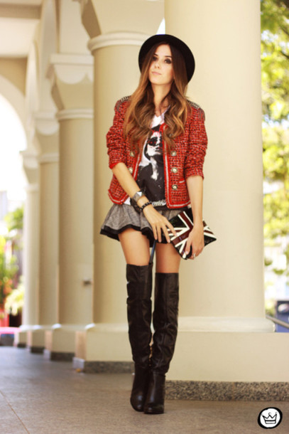fashion coolture coat t-shirt skirt bag shoes