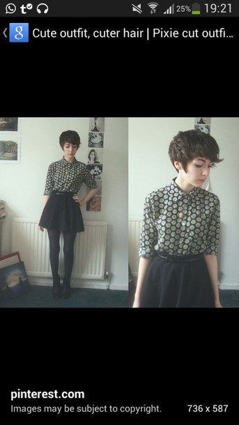 shirt blouse patterned blouse