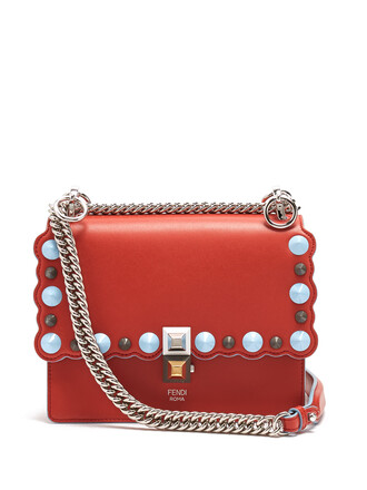 cross bag leather red