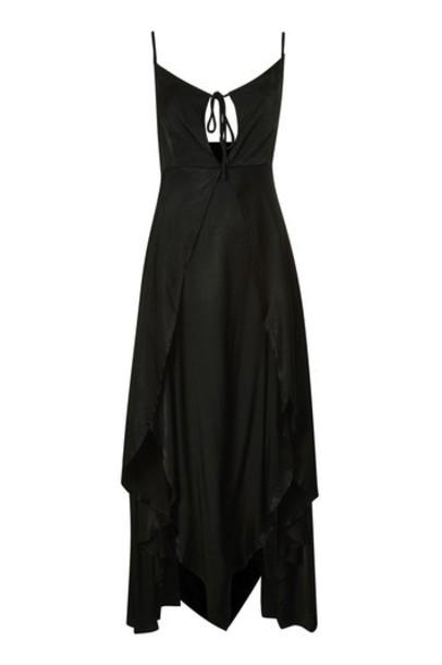 Topshop dress maxi dress maxi black