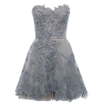 dress grey dress lace dress texture