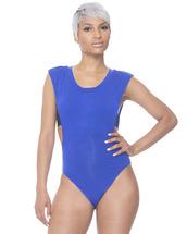 underwear,bodysuit,blue bodysuit