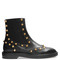 Studded brogue chelsea boots