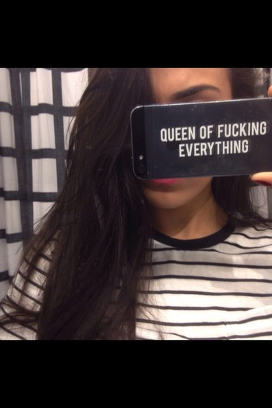 phone case queen of fucking everything queen