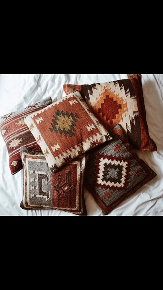 aztec western native print american throw pillows bedding pillow