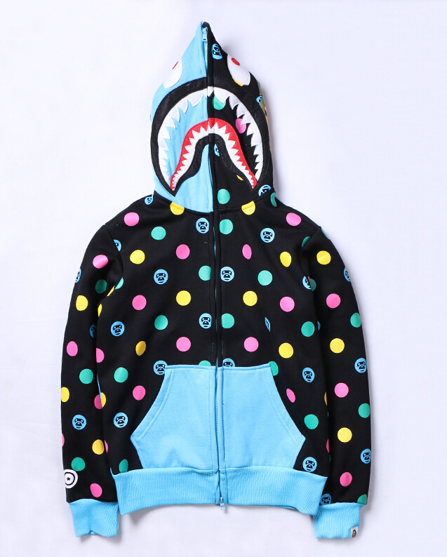 10599ea9f34f New Japan Men s bape Shark Zip Hoodie Sweater Jacket Ape Jacket ...