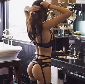underwear sexy black underwear black lace sexy lingerie lingerie bra bikini black bikini
