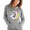 Odd future, of unicorn women's pullover hoodie - grey - artist tees - moose limited