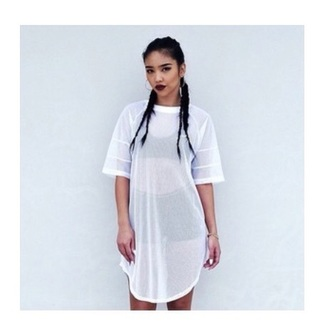 dress mesh shirt dress t-shirt sportswear blouse