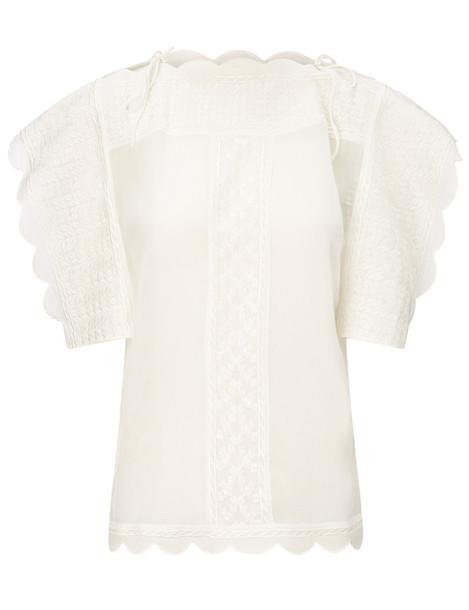 Isabel Marant etoile top sleeveless white