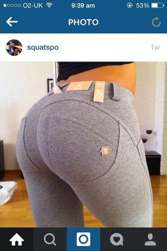 pants gym grey skinny gym leggings