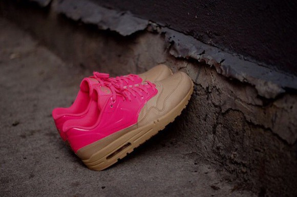shoes brown shoes nike air pink