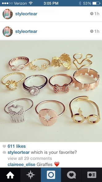 jewels ring infinity copper love them so much