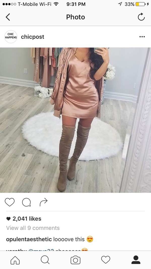 Blouse: slip dress, dress, silk dress, instagram - Wheretoget