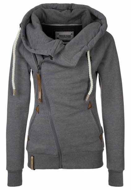 jacket blouse grey sweater sweater coat grey. Black Bedroom Furniture Sets. Home Design Ideas