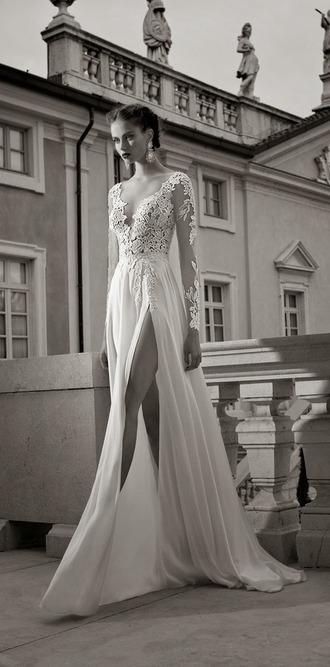 dress white dress wedding dress satin dress berta bridal 2014