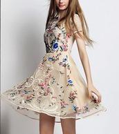 dress,dressofgirl,dreamcatcher,dress corilynn,pink flowers,flowers