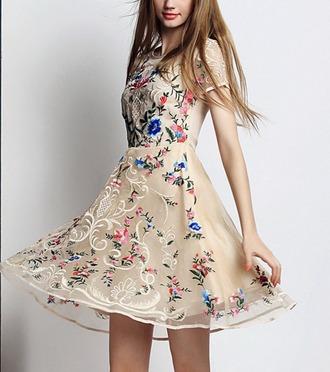 dress dressofgirl dreamcatcher dress corilynn pink flowers flowers