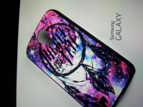 galaxy print phone case