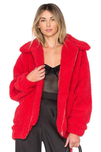 I.AM.GIA coat red