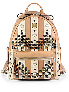 a8a9c3c14f2d MCM - Stark Studded Backpack - Saks Fifth Avenue Mobile