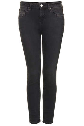 MOTO  New Wash Black Baxter Jeans - Jeans  - Clothing  - Topshop Europe