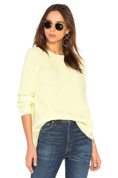 525 america sweater yellow