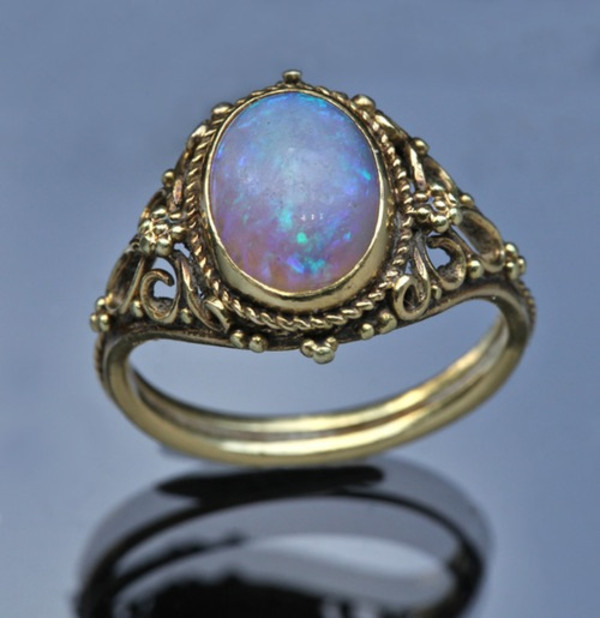 jewels ring rainbow metallic tumblr