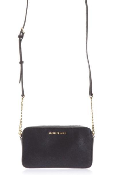 MICHAEL Michael Kors leather black bag