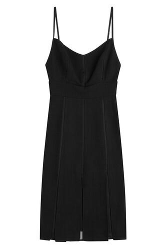 dress cocktail dress flannel black