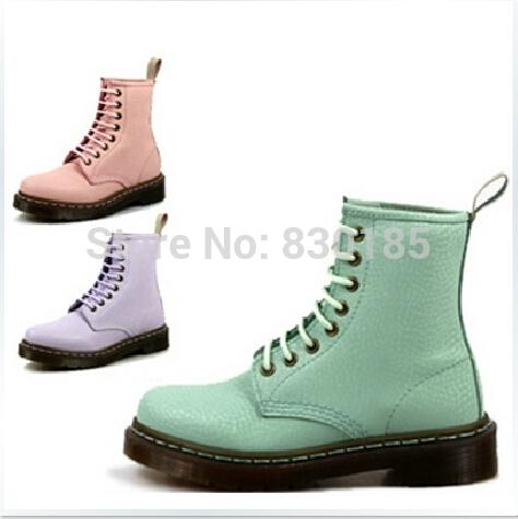 Libre de envío original martins 1460 dulces qq color de mujer de cuero botas de invierno/otoño botas/zapatos en de en Aliexpress.com