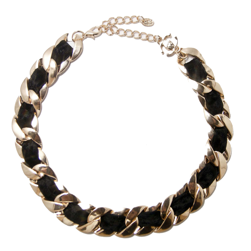 Rose-Tone Gold Chain Link Necklace  / TheFashionMRKT