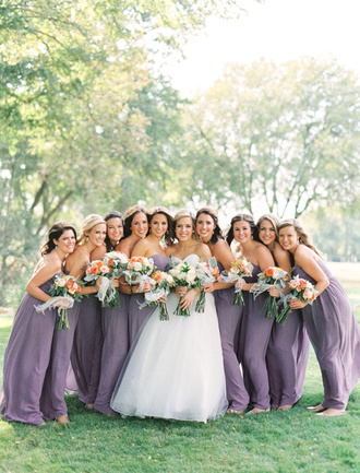 ruffled blog blogger dress jewels lavender dress strapless dress bridesmaid wedding dress wedding clothes